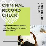 Worldwide Criminal Record Checks