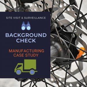 Company Background Check Case Study