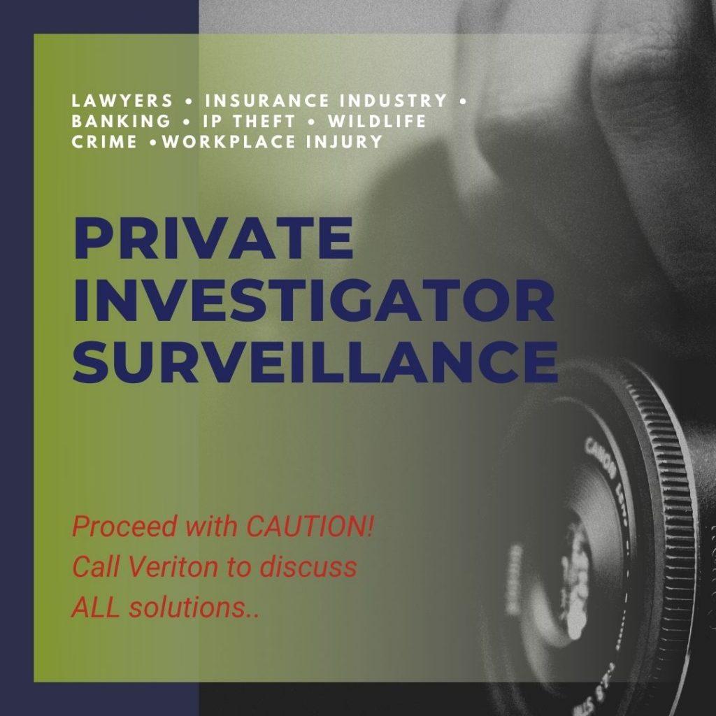 Private Investigator Surveillance
