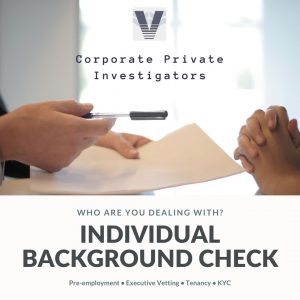 Individual Background Screening Services