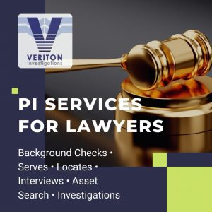 Private investigation services for lawyers