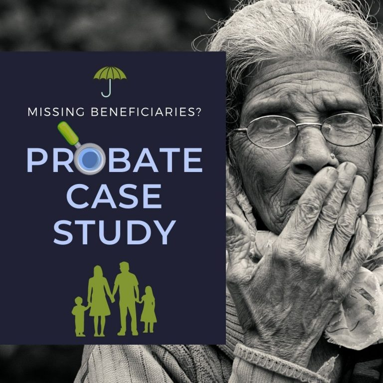 Finding a Missing Beneficiary